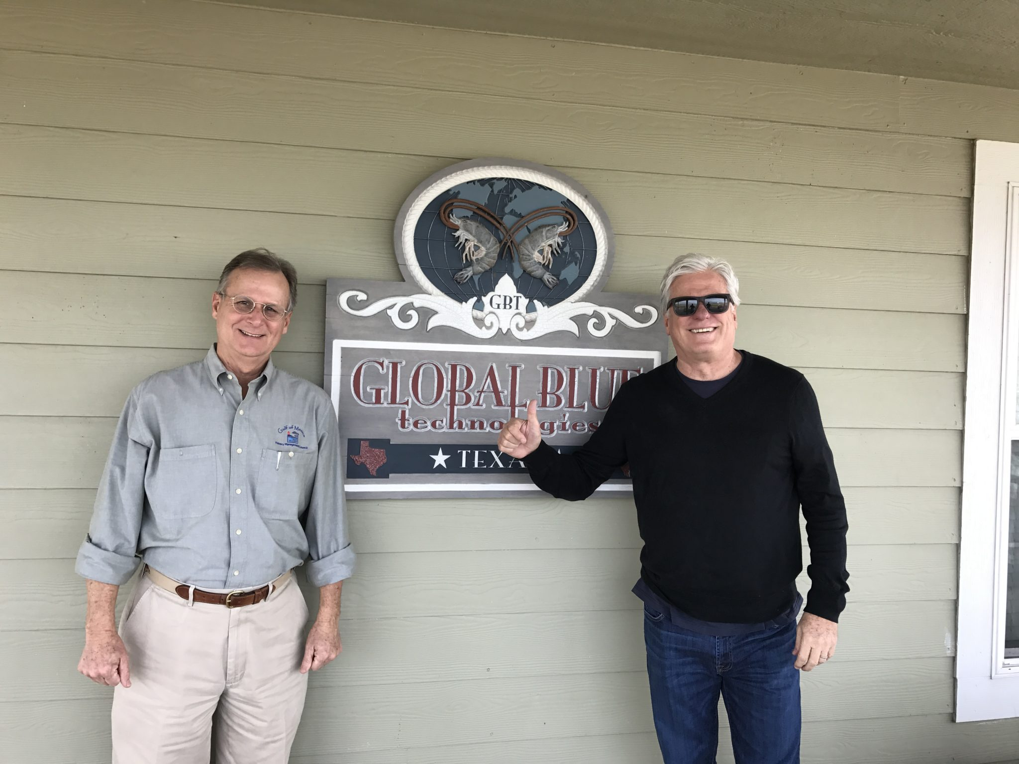 Noted Fish Biologist Tours GBT/Perciformes Facilities